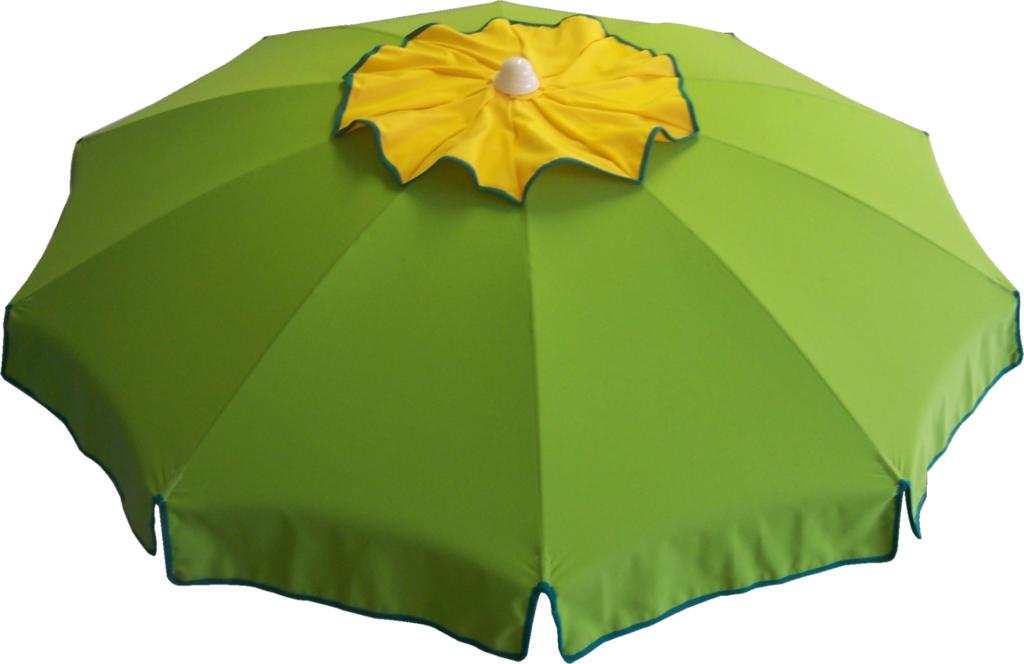 ombrellone mare con soffietto